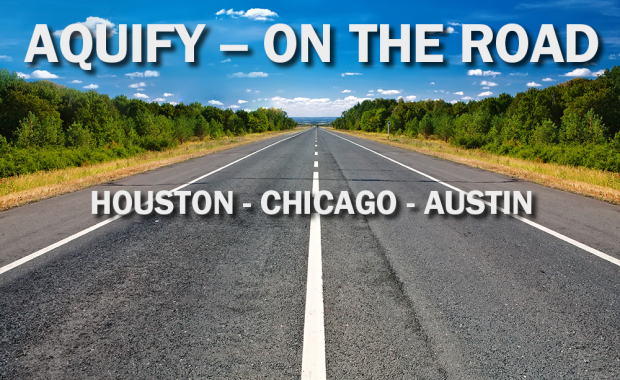 AQUIFY on the road graphic October 2021